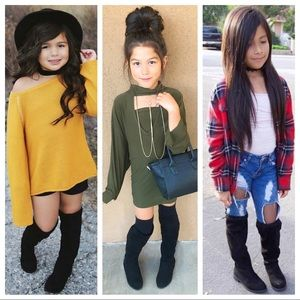 Other - Restock kids Over The Knee Boots